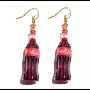 Coca-Cola Shape bottle earrings